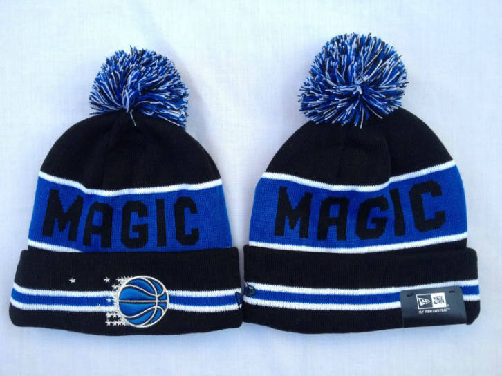NBA Orlando Magic Black Beanie SF
